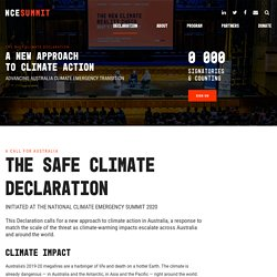 A New Approach to Climate Action
