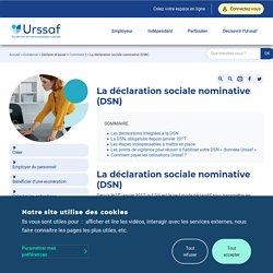 La déclaration sociale nominative (DSN)