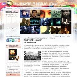 La Déclaration universelle des droits de l'Homme des Nations Unies, vidéos