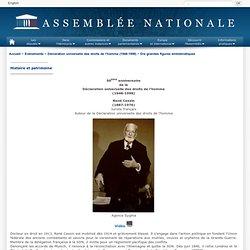 Déclaration universelle des droits de l'homme : René Cassin