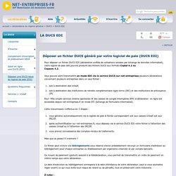 La DUCS EDI pour vos déclarations Urssaf, retraite complémentaire et prévoyance (IRC/IP)