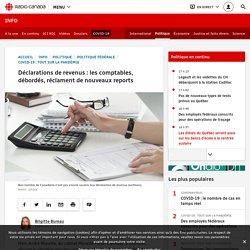 Déclarations de revenus: les comptables, débordés, réclament de nouveaux reports