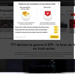 TF1 déclare la guerre à SFR : le bras de fer en trois actes
