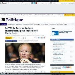 Le TGI de Paris se déclare incompétent pour juger Brice Hortefeux