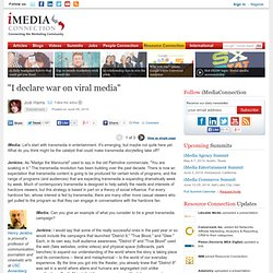 """I declare war on viral media"""