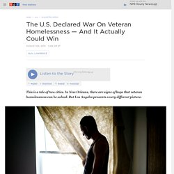 The U.S. Declared War On Veteran Homelessness — And It Actually Could Win