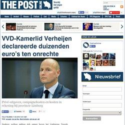 VVD-Kamerlid Verheijen declareerde duizenden euro's ten onrechte