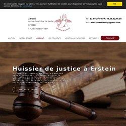 Déclarer un jeu-concours à un Huissier de justice à Erstein