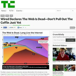 Wired Declares The Web Is Dead—Don't Pull Out The Coffin Just Yet