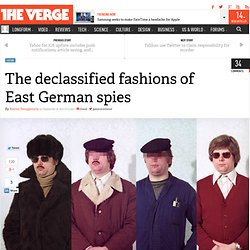 The declassified fashions of East German spies