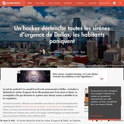 Un hacker déclenche toutes les sirènes d'urgence de Dallas, les habitants paniquent - Tech