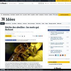 Déclin des abeilles : les mots qui fâchent