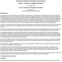 Vers un Déclin de la Production Pétrolière - 2000.pdf