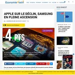 Apple sur le déclin, Samsung en pleine ascension