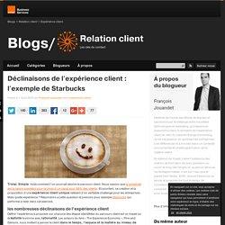 déclinaisons de l'expérience client : l'exemple de Starbucks