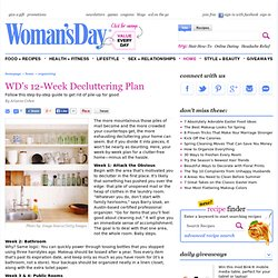 How to Declutter - Decluttering Tips at WomansDay