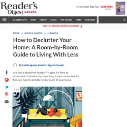 How to Declutter Every Room in Your Home: A Minimalist's Guide