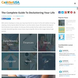 The Complete Guide to Decluttering Your Life - CashNetUSA Blog