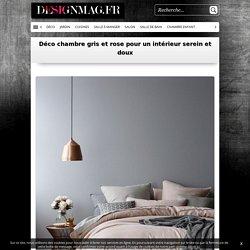 Déco chambre gris et rose pour un intérieur serein et doux -