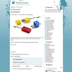 Clef USB Lego design