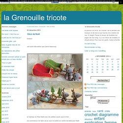 Déco de Noël - la Grenouille tricote