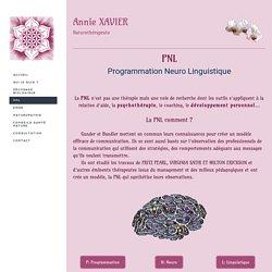 PNL - Décodage Biologique Annie Xavier