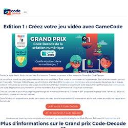 Grand prix Code-Decode de la création numérique - Code-Decode