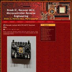 MCU Code Decoder