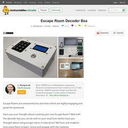 Escape Room Decoder Box: 7 Steps