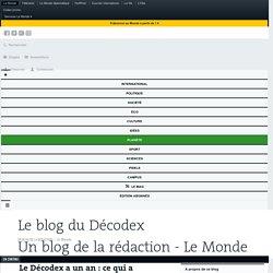 Le Décodex a un an: ce qui a changé depuis son lancement