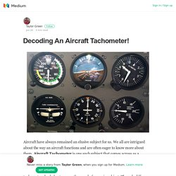 Decoding An Aircraft Tachometer!