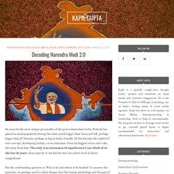 Decoding Narendra Modi 2.0 – KAPIL GUPTA