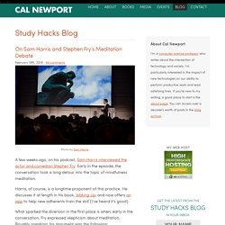 Study Hacks - Decoding Patterns of Success - Cal Newport