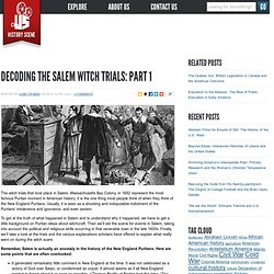 Decoding the Salem Witch trials, Part 1