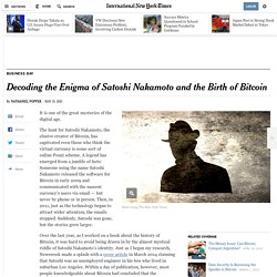 Decoding the Enigma of Satoshi Nakamoto and the Birth of Bitcoin