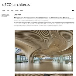 dECOi architects » One Main