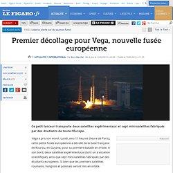 Premier décollage pour Vega, nouvelle fusée européenne