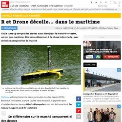 R et Drone décolle... dans le maritime