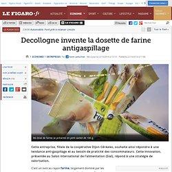 LE FIGARO 22/10/14 Decollogne invente la dosette de farine antigaspillage