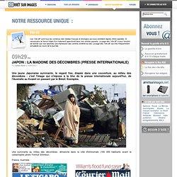 Japon : la madone des décombres (presse internationale)
