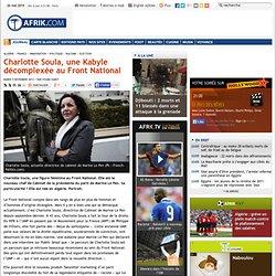 Charlotte Soula, une Kabyle décomplexée au Front National