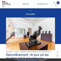Déconfinement : le jour où les musées ont à nouveau pu accueillir des visiteurs