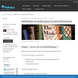 Méthodes et outils pour le déconfinement - Association KohaLa