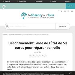 Déconfinement: aide de l'État de 50 euros pour réparer son vélo
