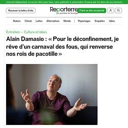 Alain Damasio: «Pour le déconfinement, je rêve d'un carnaval des fous, qui renverse nos rois de pacotille»