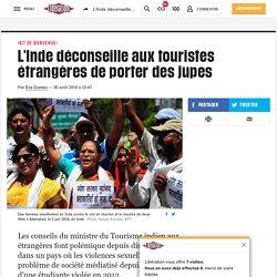 L'Inde déconseille aux touristes étrangères de porter des jupes