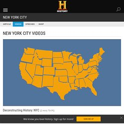 Deconstructing History: NYC Video - New York City