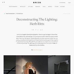 Deconstructing The Light: Herb Ritts