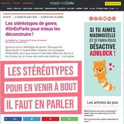 #OnEnParle: la campagne pour déconstruire les stéréotypes de genre
