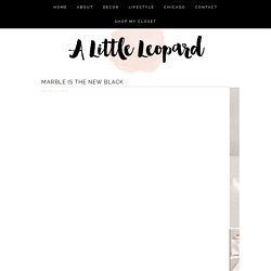 decor Archives - A Little Leopard